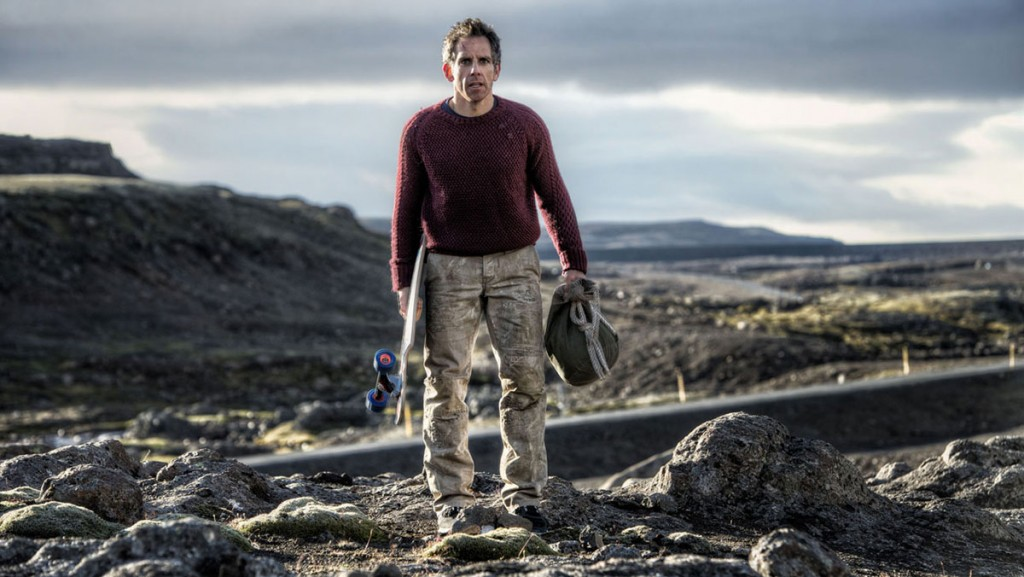 Fotograma de la película The secret life of Walter Mitty, secuencia rodada en Islandia