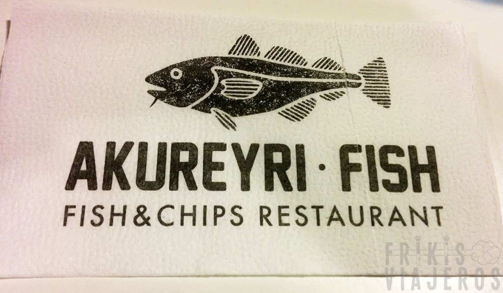 Fish and chips en Akureyri, Islandia