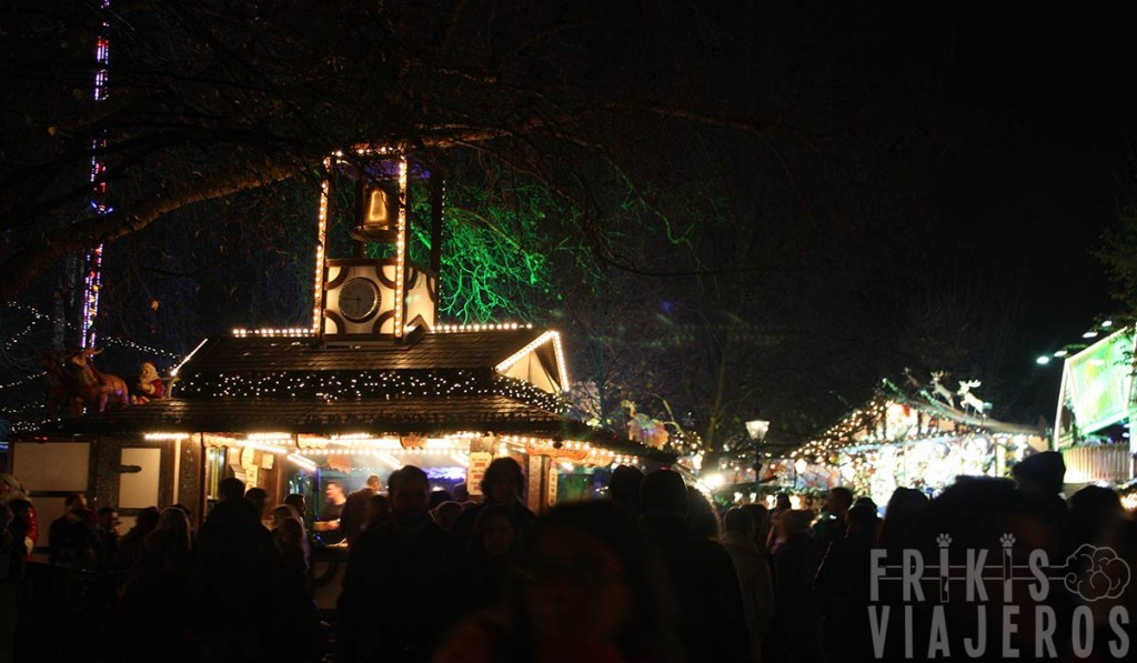 Winter Wonderland en Hyde Park, Londres
