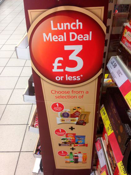 Oferta de Meal Deal de Sainsbury's en Londres