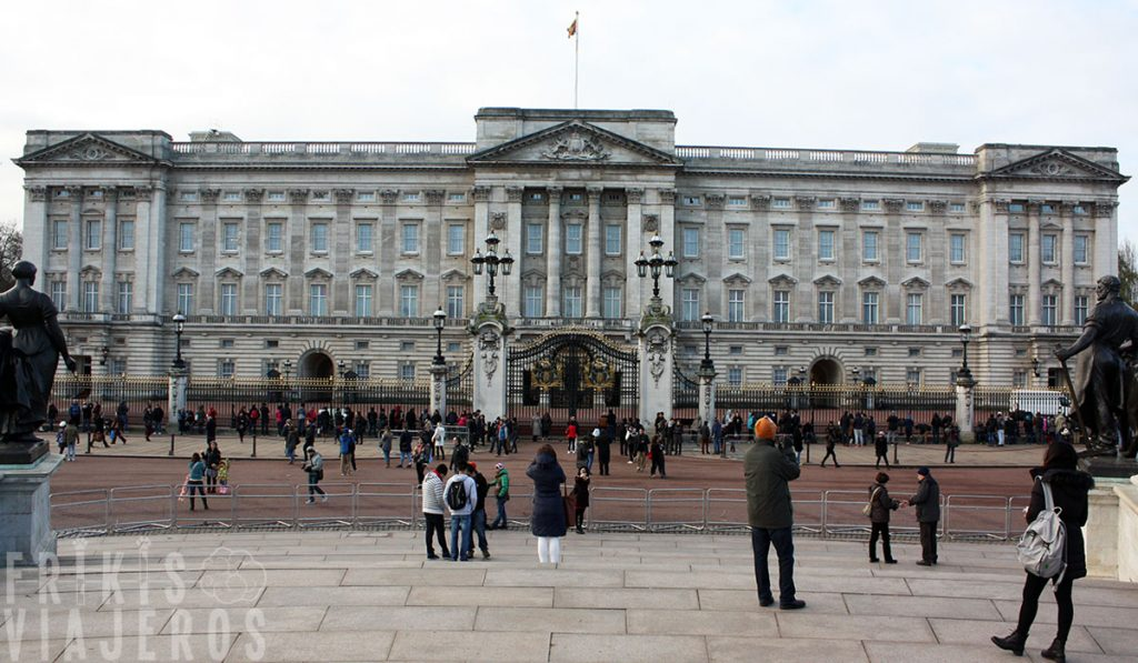 Londres por libre, Buckingham Palace