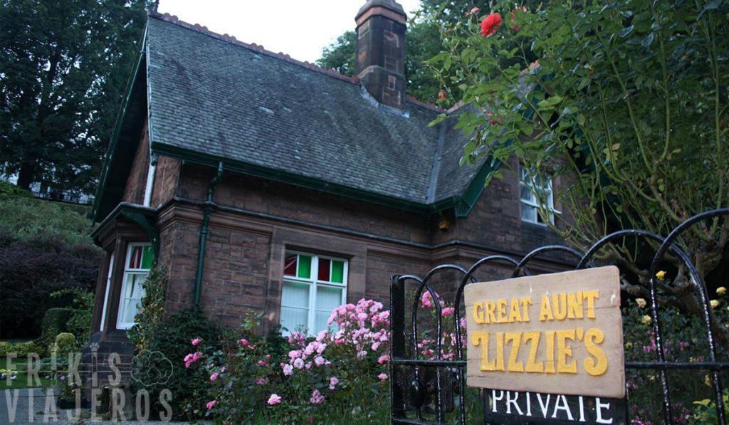 Great Aunt Lizzie's House en Princes Street Gardens, Edimburgo